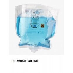 DESINFECTANTE DERMIBAC BOLSAS 800ML 1U CAJAS 6U