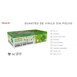 GUANTE  VINILO TALLA XL-100 UNIDADES