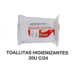 TOALLITAS HIGIENIZANTES 20U C/24
